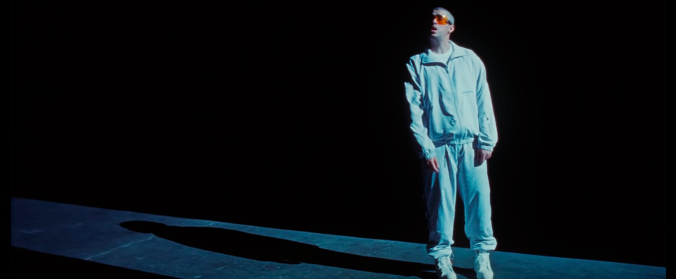 Screenshot of 'Go' video from Bad Bunny.