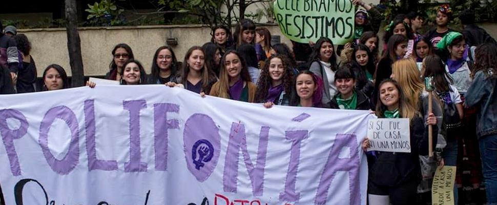 Burbujatón: colectivos feministas alzan sus voces en las calles colombianas
