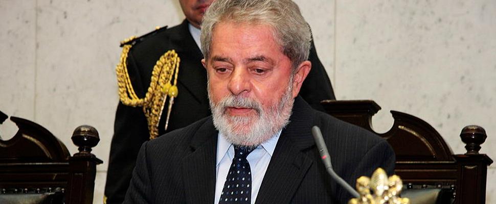 Ex presidente de Brasil, Luis Inácio Lula Da Silva.