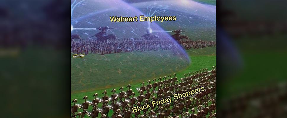 Meme about black friday