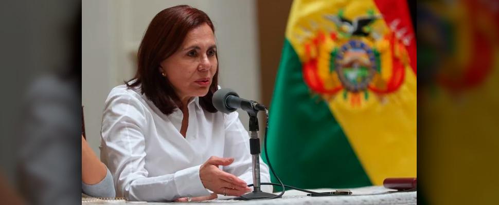 Chancellor of Bolivia, Karen Longaric.
