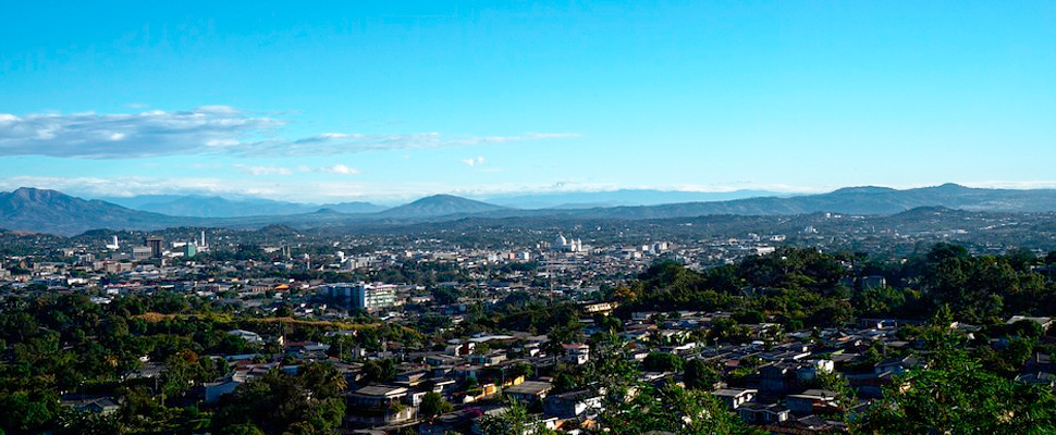 View of Sal Salvador, El Salvador.