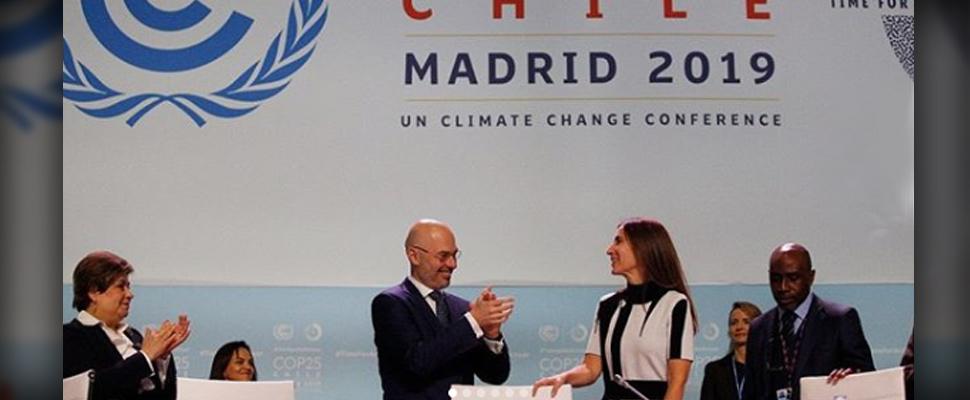 Carolina Schmidtz, nueva presidenta de la COP25.
