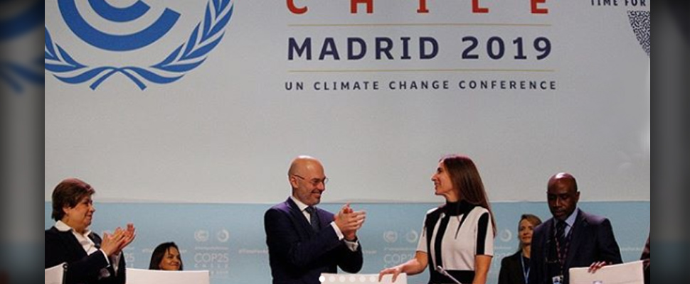 Carolina Schmidtz, new President of COP25.