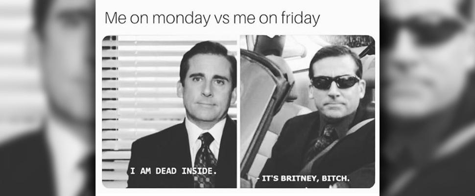 Friday meme.