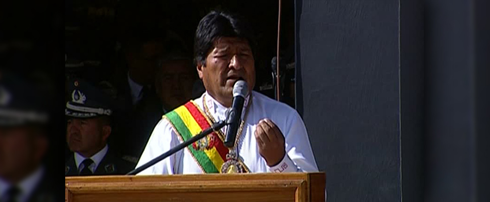 Was there corruption in the Bolivian elections?