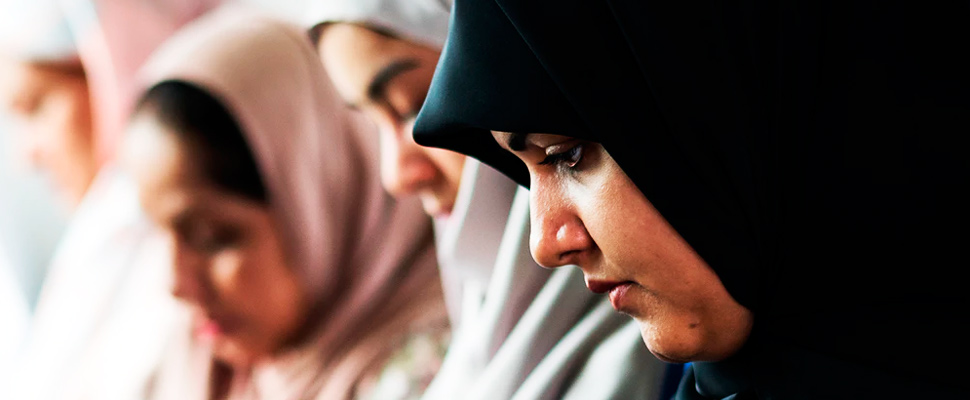 Grupo de mujeres sauditas