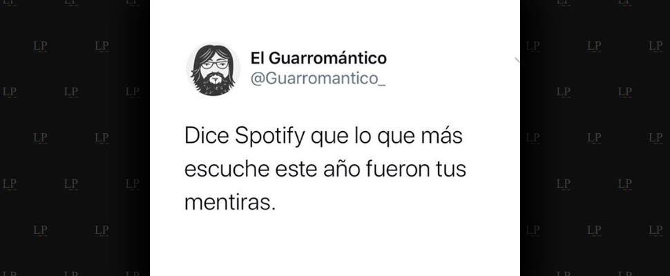 Memes sobre tus destacados de Spotify