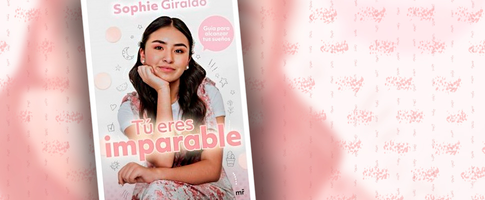 Cover of the book 'You are unstoppable' by Sophie Giraldo.