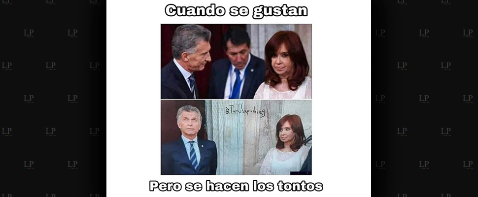 Memes del frío saludo de Cristina Fernández de Kirchner