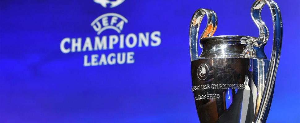 Champions League trophy.