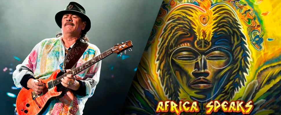 Carlos Santana, leader of the band 'Santana'.