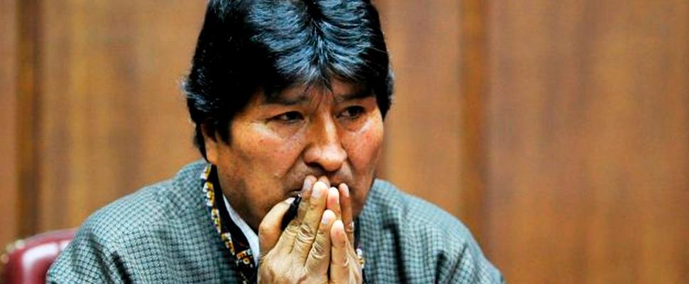 Evo Morales llega como refugiado a Argentina