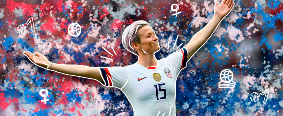 Who is the sportsperson of the year Megan Rapinoe?