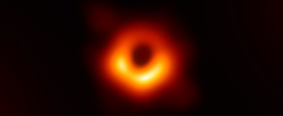 The first image of a black hole