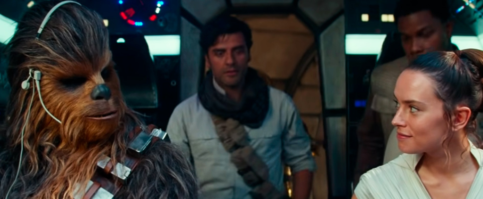 Still from the trailer of the movie 'Star Wars: Episode IX'.