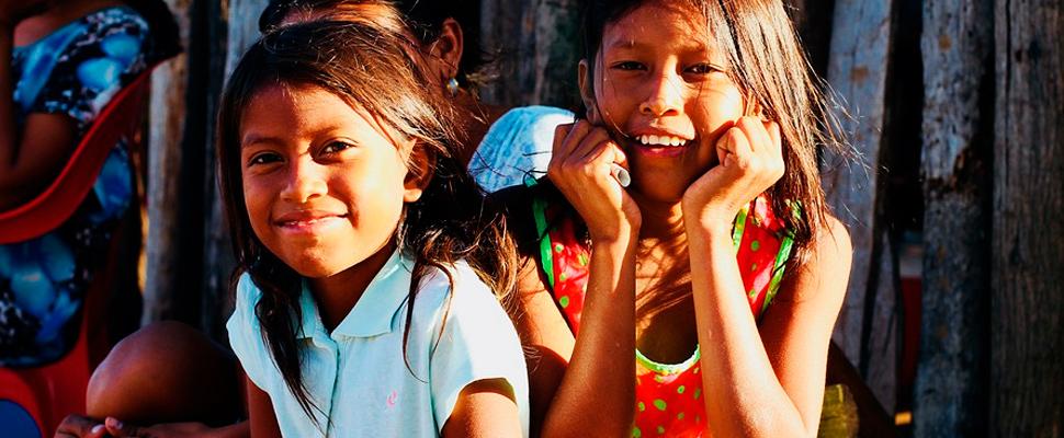 Chicas Wayuu.