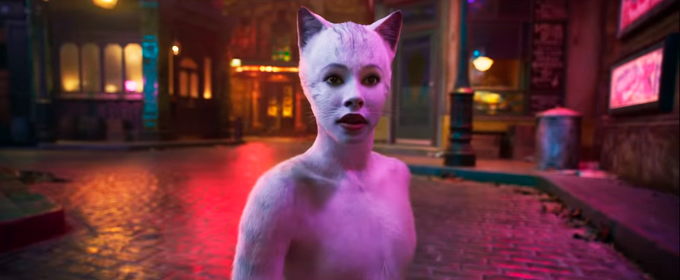 Still from the trailer of the movie 'Cats'.