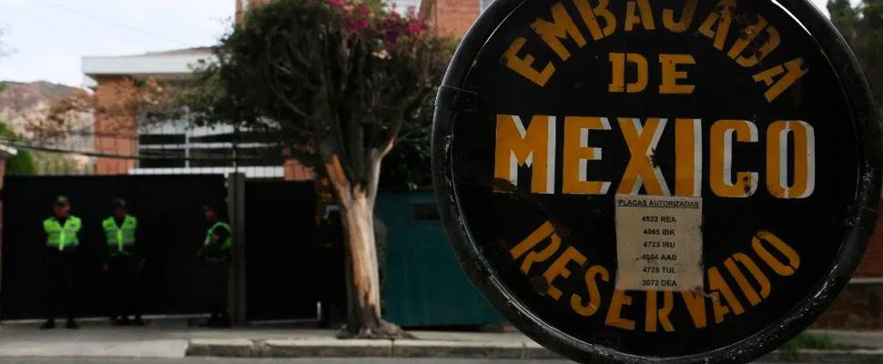 Embajada de México en Bolivia.