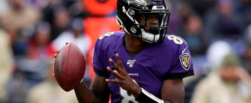 Lamar Jackson, Baltimore Ravens player.