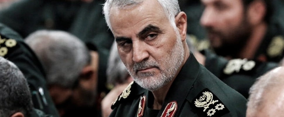 Qasem Soleimani, leader of the Quds Force in Iran.