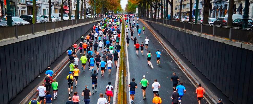¿Quieres retroceder el tiempo? Intenta correr una maratón