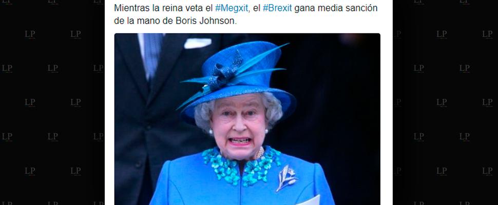 Más memes del 'Megxit'