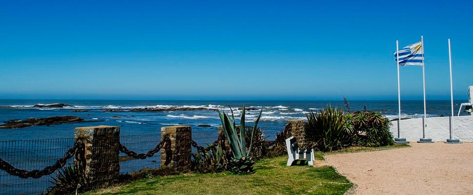 Playa de Montevideo, Uruguay.