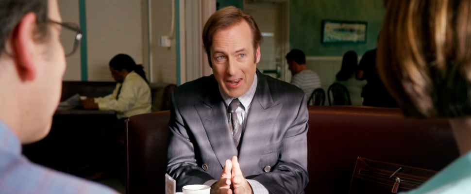 Still of the trailer of the series 'Better call Saul'.