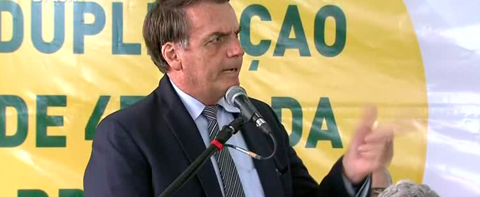 Bolsonaro says no to sex