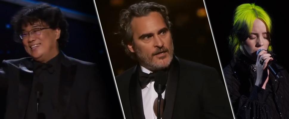 Los mejores momentos de los premios Óscar