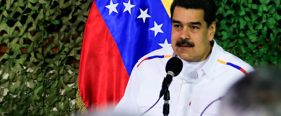 Nicolas Maduro, president of Venezuela.