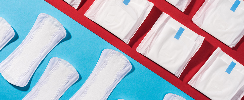 Los productos para la menstruación ahora son gratuitos en Escocia