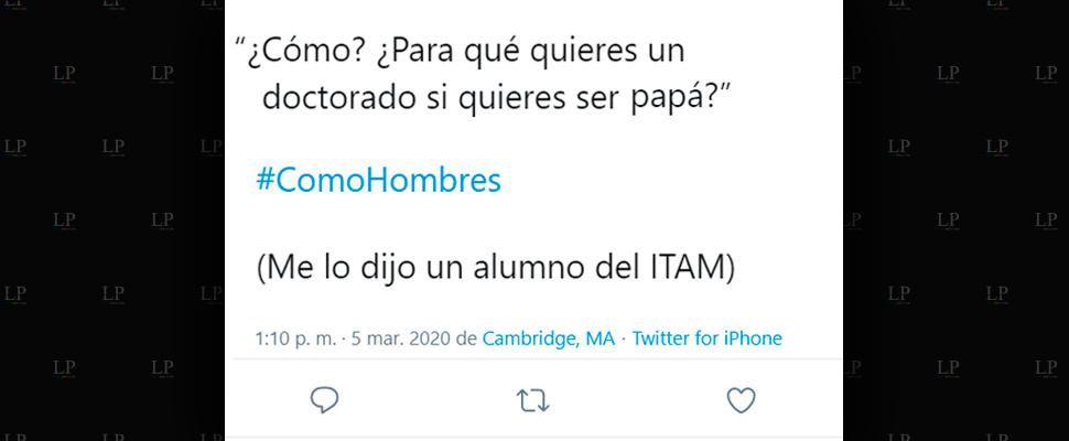 Los mejores tweets de #ComoHombres