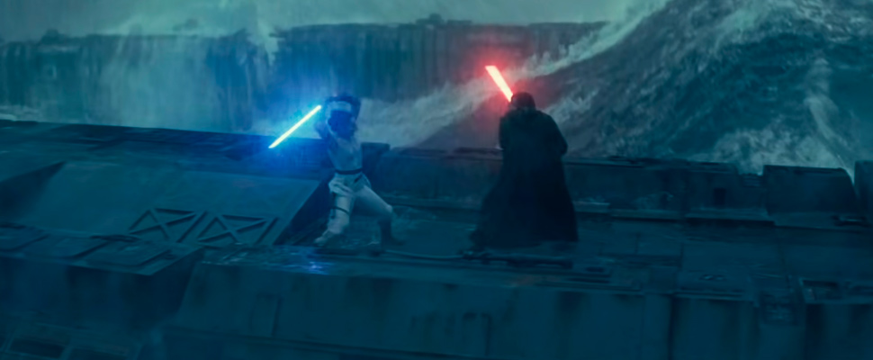 Still from the trailer for the movie 'Star Wars: Episode IX'.