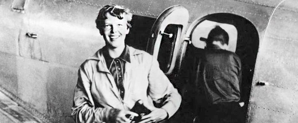 Aviador / piloto estadounidense Amelia Earhart