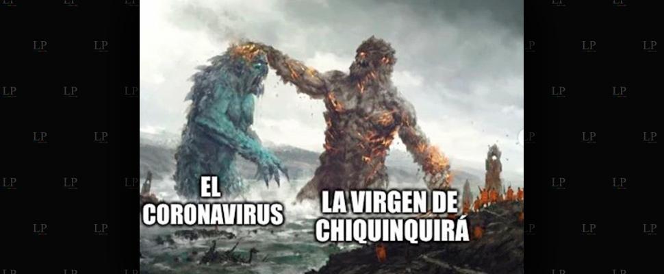 Mejores memes de la virgen de Chiquinquirá contra el coronavirus