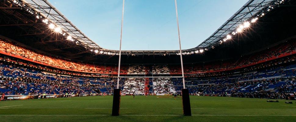 Rugby stadium.