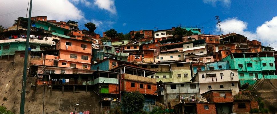 Vista de la ciudad de Caracas en Venezuela.