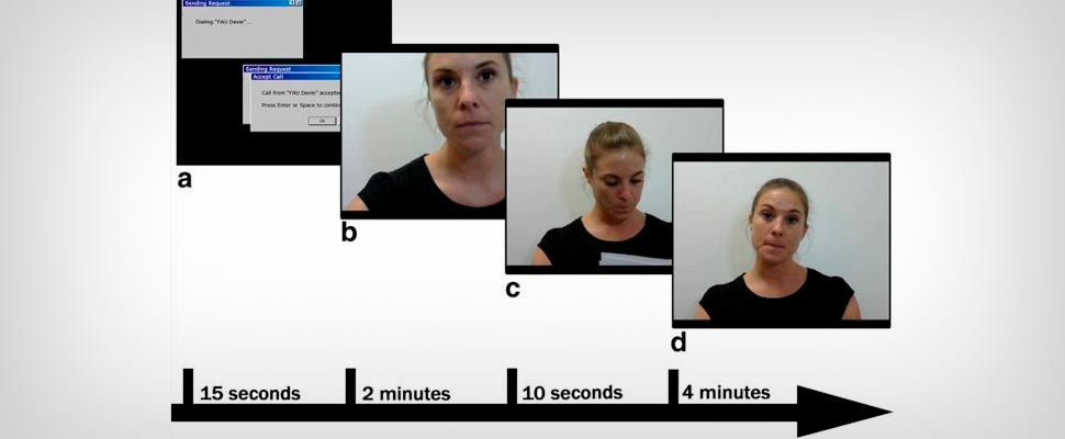 First-of-its-kind study explores phenomenon of visual cues and live video interactions