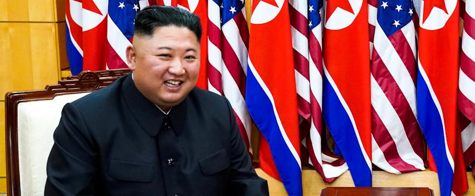 Líder Norcoreano, Kim Jong-Un.