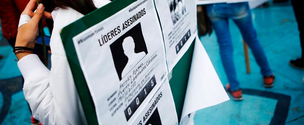 Why are they killing social leaders in Colombia?