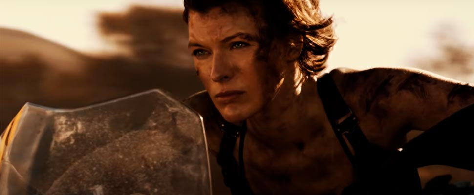 Frame from the movie 'Resident Evil: The Final Chapter'