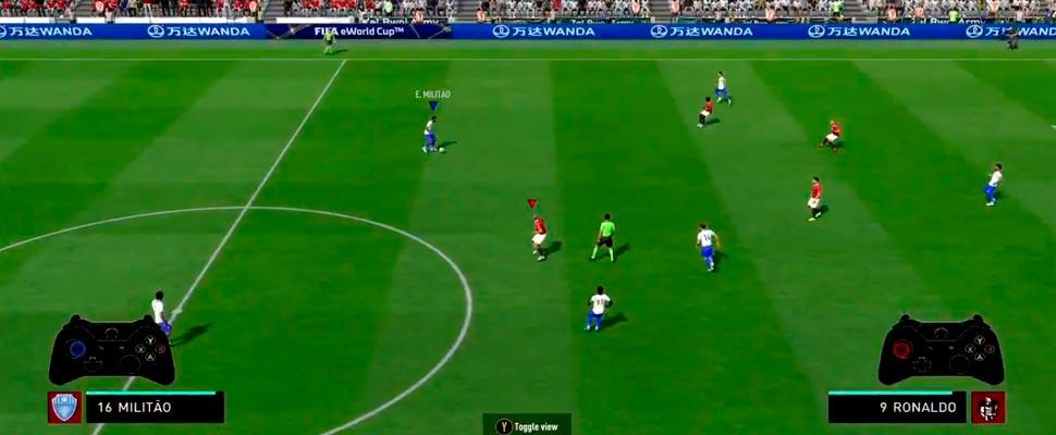 EA Fifa Sports match.