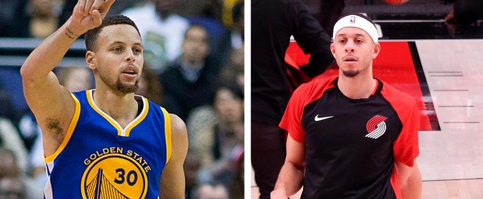 Stephen Curry y Seth Curry