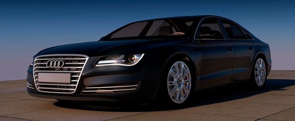 Audi 8 vehicle