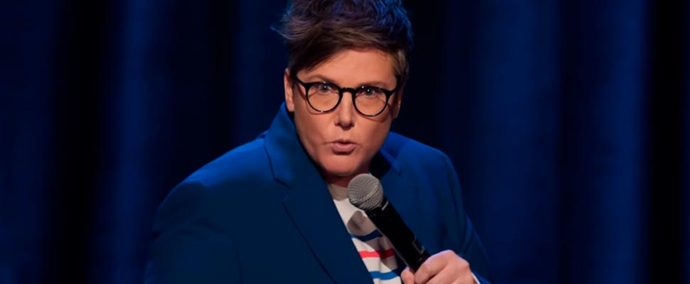Still from the trailer for the comedy special 'Douglas'.