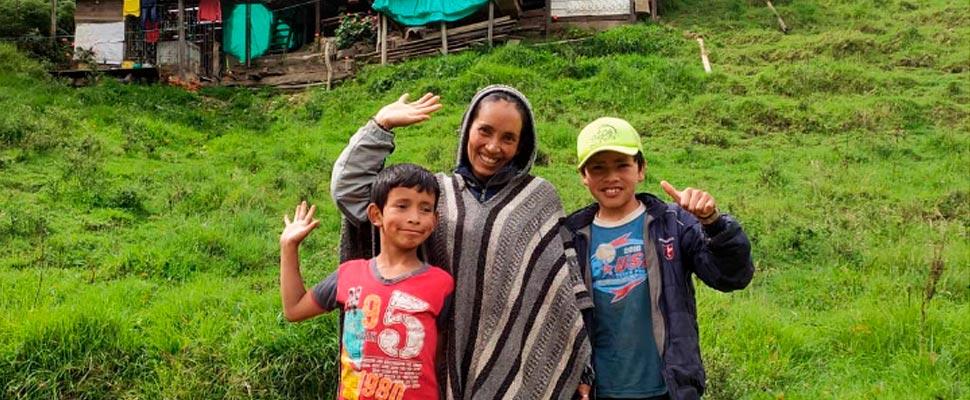 """""""Nubia e hijos"""", el canal de YouTube de una familia campesina"""