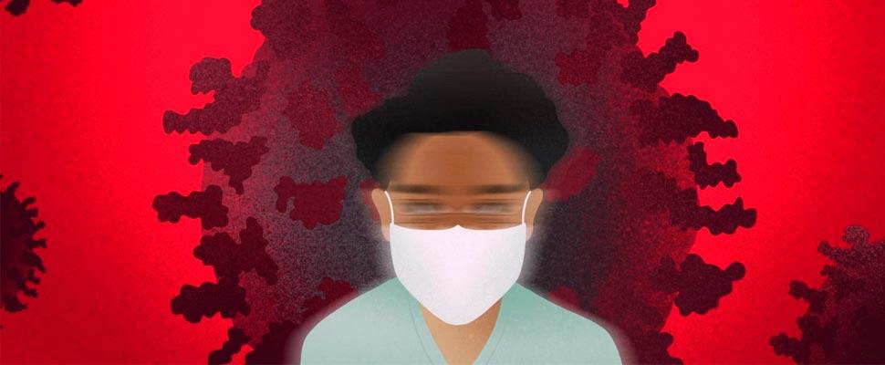COVID-19: agotamiento laboral reportado en trabajadores de la salud
