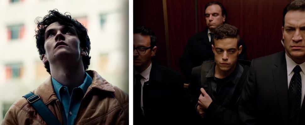 Fotogramas de las series 'BLACK MIRROR: Bandersnatch' y 'Mr. Robot'.